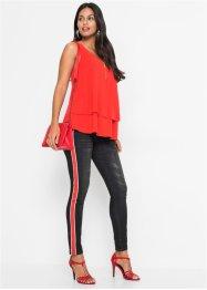 Skinny-Jeans mit Streifentape, BODYFLIRT