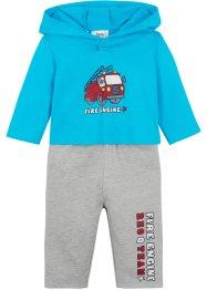 Baby Shirt und Sweathose (2-tlg.Set) Bio-Baumwolle, bpc bonprix collection