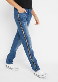 Jeans mit Seitenstreifen, Slim Fit, John Baner JEANSWEAR