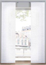 Blickdichte Schiebegardine mit Struktur (1er Pack), bpc living bonprix collection