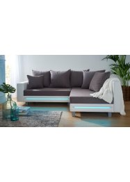 Ecksofa mit LED, bpc living bonprix collection