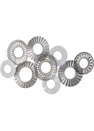 Wanddeko Kreise mit Spiegel, bpc living bonprix collection