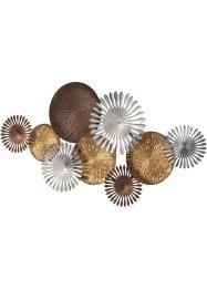 Wandobjekt Metall-Blumen, bpc living bonprix collection