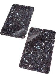 Herdabdeckplatten in Mamor-Optik (2er Pack), bpc living bonprix collection