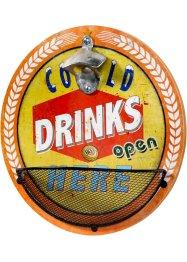 Flaschenöffner mit Cold Drinks Aufdruck, bpc living bonprix collection