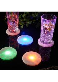 LED-Untersetzer (5er Pack), bpc living bonprix collection