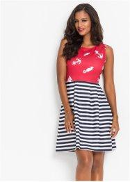 Kleid mit maritimen Print, BODYFLIRT boutique