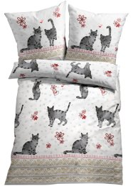 Bettwäsche mit Katzen, bpc living bonprix collection