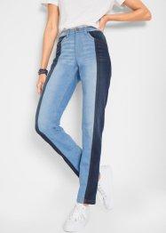 Stretch-Jeans mit Bequembund, Straight, bpc bonprix collection
