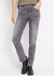 Authentik-Stretch-Jeans, verkürzt, STRAIGHT, John Baner JEANSWEAR