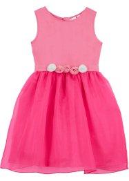 Mädchen Kleid mit Blumenapplikation, bpc bonprix collection