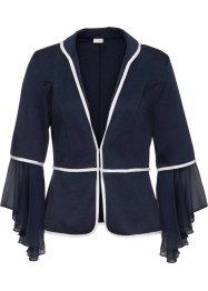 Shirtjacke mit Chiffon-Volant, BODYFLIRT boutique