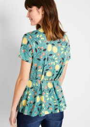 Nachhaltiges Shirt in Wickeloptik, TENCEL™ Lyocell, bpc bonprix collection