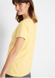 Naturfarben gefärbtes Shirt, Bio-Baumwolle, bpc bonprix collection