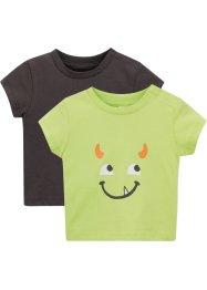 Baby T-Shirt (2er-Pack) Bio-Baumwolle, bpc bonprix collection
