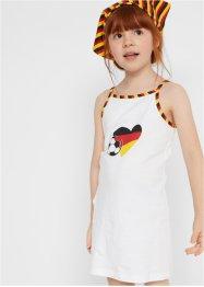 Mädchen Minikleid + Kopftuch (2-tlg.), bpc bonprix collection