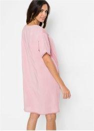 Tunika-Kleid mit Häkeldetails und Bindeband, BODYFLIRT