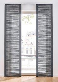 Schiebegardine mit Querstreifen (1er Pack), bpc living bonprix collection