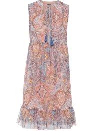 bedrucktes Mesh-Tunika-Kleid: Must Have, BODYFLIRT