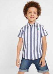 Kurzarmhemd mit Streifen, bpc bonprix collection