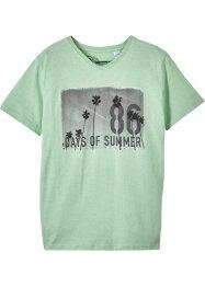 T-Shirt mit V-Ausschnitt, bpc bonprix collection