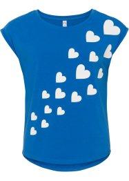 T-Shirt mit Herzen, RAINBOW