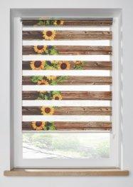 Doppelrollo mit Sonnenblumen Druck, bpc living bonprix collection