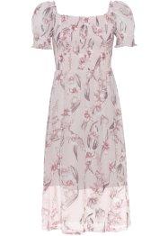 Kleid mit Smok und Quarrée-Ausschnitt: Must Have, BODYFLIRT