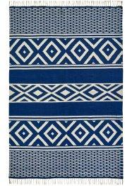Kelim-Teppich mit dekorativen Fransen, bpc living bonprix collection