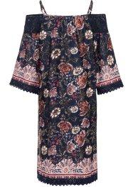 Carmen-Kleid mit halbem Arm, RAINBOW