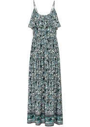 gemustertes Maxi-Kleid mit Spaghetti-Trägern, RAINBOW