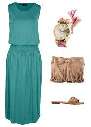 Jerseykleid mit Smokdetail, bpc bonprix collection