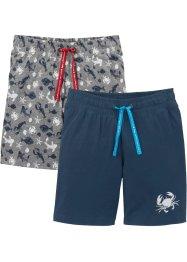 Jungen Shirt-Bermuda (2er-Pack), bpc bonprix collection