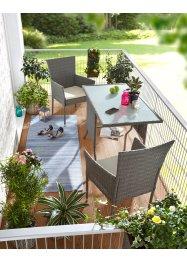 Balkonmöbel Set (3-tlg.), bpc living bonprix collection