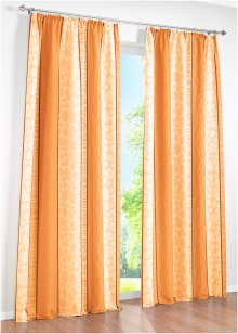 "Vorhang ""Estelle"" (1er-Pack), bpc living, orange"