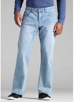 Stretch-Jeans Regular Fit Bootcut, John Baner JEANSWEAR, hellblau