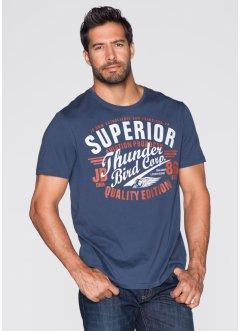 T-Shirt Regular Fit, John Baner JEANSWEAR, indigo