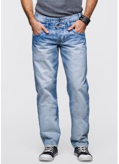 Jeans Regular Fit Straight, RAINBOW, light blue bleached