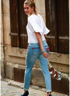 Trachten-Jeans Boyfriend, RAINBOW, blue bleached