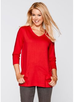 Shirt, 3/4 Arm, bpc bonprix collection, erdbeere