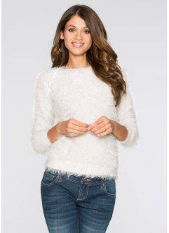 Pullover, BODYFLIRT, wollweiß