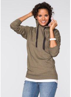 Oversize Sweatshirt, RAINBOW, oliv