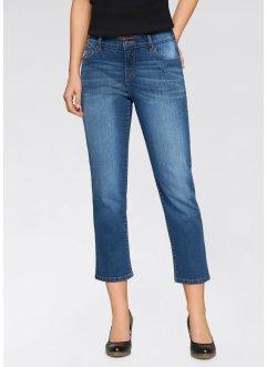 Weite 7/8-Stretch-Jeans, John Baner JEANSWEAR, blau