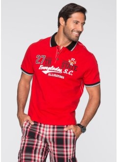 Poloshirt, Regular Fit, bpc bonprix collection, rot