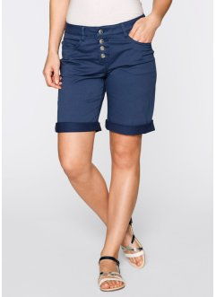 Boyfriend-Bermuda, bpc bonprix collection, indigo