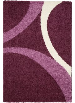 "Teppich ""Patsy"", Hochflor, bpc living, beere"