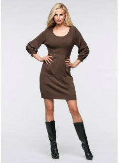 Strickkleid, BODYFLIRT, braun