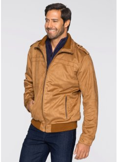 Blouson simili cuir Regular Fit, bpc selection, cognac