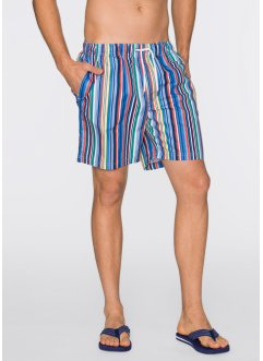 Short long de plage, bpc bonprix collection, rayé multicolore