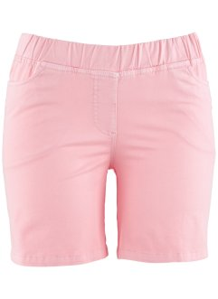 Shorts mit Elastik-Bund, bpc bonprix collection, puderrosa
